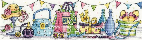 Retail Therapy Cross Stitch Kit